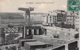 29  BREST - Boulevard Thiers Et L'Arsenal - Brest