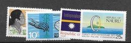 1968 MNH Nauru Mi 83-4, 85, 86 Postfris** - Nauru