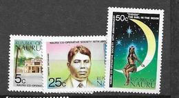1973 MNH Nauru Mi 102-4 Postfris** - Nauru