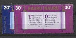 1981 MNH Nauru Mi 233-36 Postfris** - Nauru