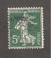 Perforé/perfin/lochung France No 137 VN Mines De Noeux-Vicoigne - Perforadas