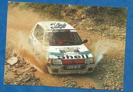 CPM Sport Automobile Peugeot Rallye Automobile à Identifier ( Recto Oculté ) - Rally
