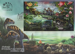 Hungary (2020) - FDC Block -  /  Dinosaures - Dinosaurs - Trains