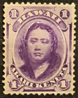 HAWAII 1886 - MNG - Sc# 30 - 1c - Hawaï