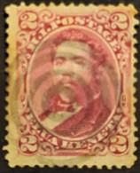 HAWAII 1882 - Canceled - Sc# 38 - 2c - Hawaii