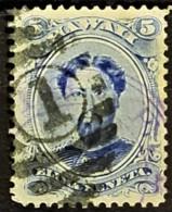 HAWAII 1866 - Canceled - Sc# 32 - 5c - Hawaii