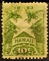 HAWAII 1894 - Canceled - Sc# 77 - 10c - Hawaï