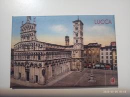1 CALAMITA Magnete Da Frigo Magnet Aimant  LUCCA  Duomo 78x53 Mm  Foto Velluto Opaco  NEW Nuovo - Tourism
