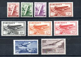 Cameroun Kamerun Luftpost Y&T PA 22** - PA 30** - Cameroun (1915-1959)