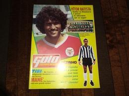 """Revista Desportiva Portuguesa """"GOLO"""" Capa,Vitor Baptista Do Benfica, Mané Do Guimarães..., Poster Do Riopele (Famalicão) - Sport"""