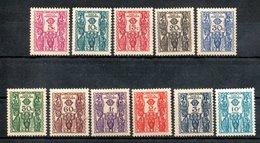 Cameroun Kamerun Porto Y&T T 14** - T 24** - Kamerun (1915-1959)