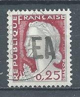Algérie YT N°355 Marianne De Decaris Surchargé EA Oblitéré ° - Algeria (1962-...)