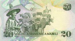 LESOTHO  P. 7b 20 M 1984 UNC - Lesotho
