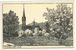 Ansichtskarte Schöllbronn Ettlingen Um 1900 Ungelaufen - Ettlingen