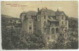 Ansichtskarte Fot Königstein Im Taunus Sanatorium Dr. Kohnstamm 1912 Lemgo - Koenigstein