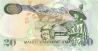 LESOTHO P. 16g 20 M 2009 UNC - Lesoto