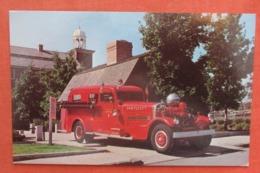 Fire Engine No. 1  1937 Ahrens Fox  Rhode Island > Pawtucket  Ref 4033 - Pawtucket
