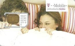 T-MOBILE * MOBILE * GSM * SIM CARD * WOMAN * GIRL * MAN * BOY * T-Mobile 04 * Slovakia - Slovaquie