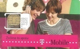 T-MOBILE * MOBILE * GSM * SIM CARD * WOMAN * GIRL * MAN * BOY * T-Mobile 07 * Slovakia - Slowakei