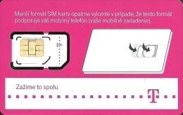 T-MOBILE * MOBILE * GSM * SIM CARD * WOMAN * GIRL * MAN * BOY * T-Mobile 17 * Slovakia - Slowakei