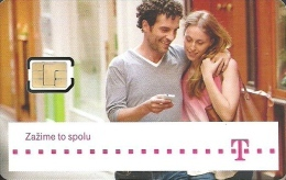 T-MOBILE * MOBILE * GSM * SIM CARD * WOMAN * GIRL * MAN * BOY * T-Mobile 18 * Slovakia - Slowakei