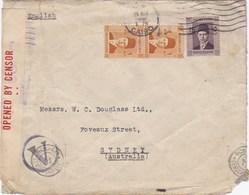 Egypt 1941 Censored Cover Addressed To Australia - Egypt