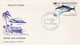 Wallis Et Futuna 1980 Sydpex 80 FDC - FDC