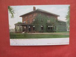 Bronson Library  Glitter Added  Waterbury   Connecticut    >    Ref 4034 - Waterbury