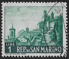 San Marino SG522a 1961 Definitive 1l Good/fine Used [40/33166/7D] - Oblitérés