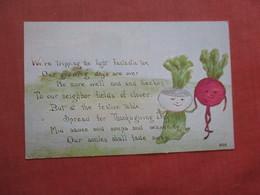 > Vegtable  For  Thanksgiving    Ref 4034 - Thanksgiving