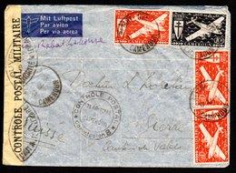 Cameroun Kamerun Luftpost Y&T 3 X PA 7, 1 X PA 20 - Kamerun (1915-1959)