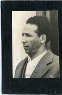 Photo De Presse . Politique  ALGERIE . MOHAMED BOUDIAF  Homme D'état , Président Du G.P.R.A.  En 1962 - Identified Persons