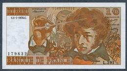10 Francs Berlioz 1/7/1976 FAYETTE F63 (19) NEUF - 1962-1997 ''Francs''