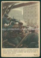 Militari Fascismo Cartolina Militare In Franchigia Per Le Forze Armate PNF Firmata Mussolini Boccasile FG M149 - Italia