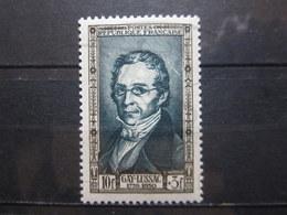 VEND BEAU TIMBRE FRANCE N° 893 , TACHE BLANCHE DERRIERE LA TETE , XX !!! - Varieties: 1950-59 Mint/hinged