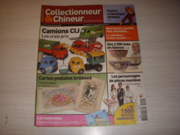 COLLECTIONNEUR CHINEUR 040 20.06.2008 CAMIONS CIJ SPIROU PIECE MONTEE CP BRODEE - Antigüedades & Colecciones