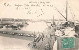 Viet Nam Vietnam Indochine Tonkin Haiphong Vue Des Docks + Timbre Cachet 1911 - Viêt-Nam