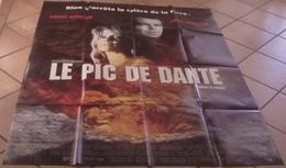 AFFICHE CINEMA ORIGINALE FILM LE PIC DE DANTE DONALDSON Pierce BROSNAN Linda HAMILTON VOLCAN 1997 TBE - Afiches & Pósters