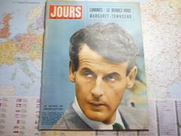 Jour De France N°177 5 Avril 1958  Le Rendez-vous Margaret-Townsend / Téhéran Drame Du Shah - People