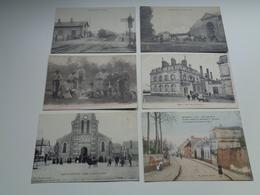 Très Beau Lot De 60 Cartes Postales De France Toutes Animées   Zeer Mooi Lot Van 60 Postkaarten Van Frankrijk - 60 Scans - 5 - 99 Cartes