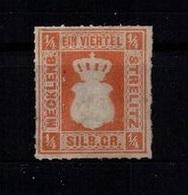 MECKLENBURG-STRELITZ 1864 Nr 1 Siehe Beschreibung (403602) - Mecklenburg-Strelitz