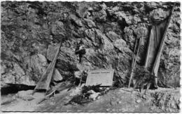 CPSM 9 X 14  Résistance 1944 Combat Du VERCORS Drôme  La Grotte De LA LUIRE Vestiges De L'Hôpital - Oorlog 1939-45