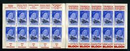 Carnet De 1939  - Tuberculose - Antituberculeux - N° 39F*Alsace*26a  Lessive CROIX-Barbès-Céfaline-Castoria-Gaz-tapioca - Blokken & Postzegelboekjes