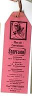 Paris Rue D'Hautevile : Marque-page  STOPFLIGHT Rose (PPP22798) - Bookmarks