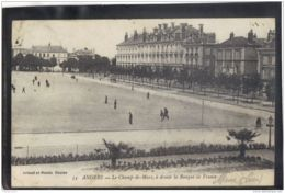 49113 .  ANGERS . LE CHAMP DE MARS . A DOITE LA BANQUE DE FRANCE - Angers