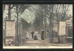 CPA Ris-Orangis, Avenue Vestraete - Ris Orangis