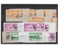 ALGERIE Colis Postaux N°189 à 204** (17 Valeurs) Série Complète Neufs Sans Charnière - Algérie (1924-1962)