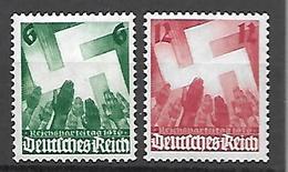 Allemagne III Reich  1936   Cat N° 580 , 581    N** MNH - Ongebruikt