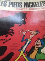 Les Pieds Nickelés Contre Croquenot PELLOS Société Parisienne D'édition 1970 - Pieds Nickelés, Les