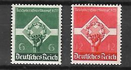 Allemagne III Reich  1935    Cat N° 530, 531       N** MNH - Ongebruikt